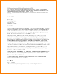 Gallery Of Letter Of Request For Financial Assistance Sample