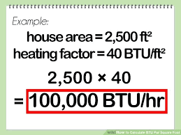 Btu Cooling Chart Air Conditioner Evibiw Info