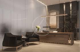 Modern Corporate Office Interior Design Modern Luxury Ceo Office Interior Design On Behance