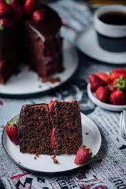 Chocolate Strawberry Cake Give Recipe