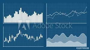 Bar Graph And Line Graph Templates Business Infographics