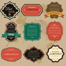 Label Design Vector Free Download Retro Badges Labels Vector Set Vector Free Photo Stock