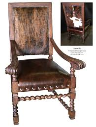 Cowhide Dining Chairs Leather Dining Room Chairs Dining