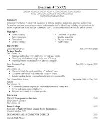 Loader Job Description Resume Package Handler Java Resumes Ups ...
