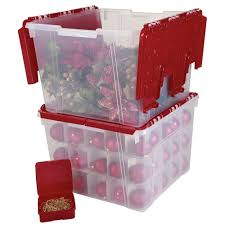 Storage For Christmas Decorations Large Christmas Decorations Storage Box Two Handy Extra Storage