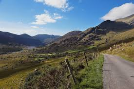 the black valley with a view of the mcgillycuddy s reekeduff lake in the