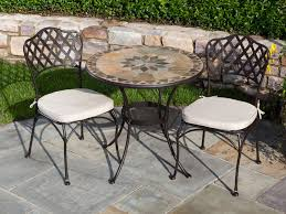 Counter Height Bistro Table Set Outdoor Table Set With A Belgian Waffle Breakfast Tall Flowers In