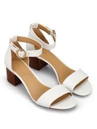 michael kors sandals lena flex white leather sandals