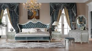 Italy style European classical white and king size bedroom furniture ...