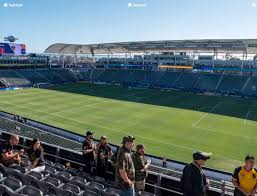 Dignity Sports Park Seating Chart Dignity Health Sports Park Section 227 Seat Views Seatgeek