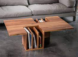 This coffee table features a genuine marble tabletop, making it the perfect piece for your living room. Bookshelf Coffee Table New Ideas And Innovations