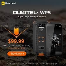 Gearbest - <b>OUKITEL WP5 4G Smartphone</b>! The phone can ...
