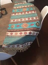 authentic turkish pattern table runner