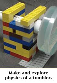 spring break science hands on projects guide for families lego tumbler physics
