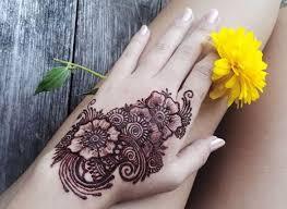 Tetování Hennou Noha