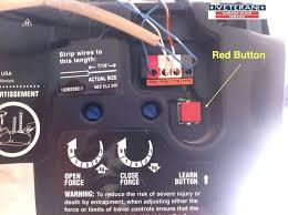 garage door opener sensor garage door sensors yellow light