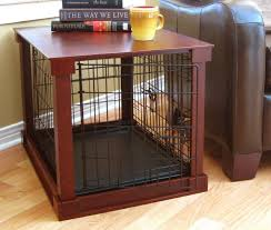 furniture style dog crate. Dog House Wooden Kennels Pet Crate End Table Tables New Owners Style Furniture Large Kennel