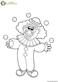 75 Clown Tekenen Kleurplaat 2019