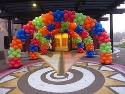 balloon arch helium