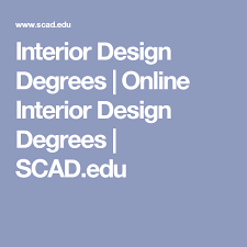 accredited online interior design courses. Wonderful Accredited Interior Design Degrees  Online SCADedu With Accredited Courses R
