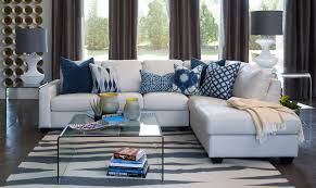 custom made of furniture arrangement with mirrored side table sectional sleeper sofas with chaise with