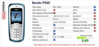Sendo P600 :: GSMchoice ...