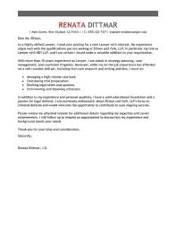 Legal Resume Cover Letter Best Law Cover Letter Examples LiveCareer 9