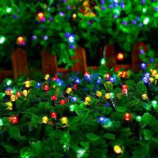 Colored String Lights 2018 Solar Color Changing String Lights Outdoor 500 Colored Led Xmas Lights Waterproof Lights 170 Ft Patio Lawn Landscape Lighting Decor Led Fairy