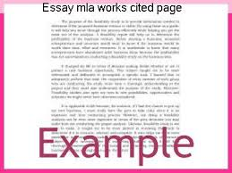 essay mla works cited page essay help essay mla works cited page