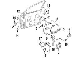 door handle parts diagram. Ford Focus Door Parts Diagram Jk Favored Portrayal Zx 5 L 4 2 0 Liter Handle