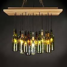 Wine Bottle Light Fixture Best Wine Bottle Light Fixture Chandelier Bottle Chandelier