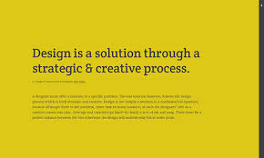 a design is essay breakdown on behance after a 5 second delay the contents shifts to the right and out of the reader s attention this delay is used to notify to the reader the contents is