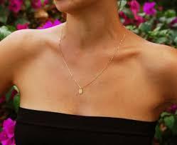 gold necklace drop necklace tiny pendant necklace bridesmaid necklace charm necklace wedding wedding party 2287175 weddbook