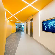 Efficient Office Design Fascinating HP48 R High Performance 48 Recessed LED By Finelite Georgetown