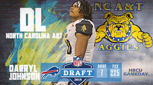 NC A&T's Darryl Johnson picked in NFL Draft - HBCU Gameday