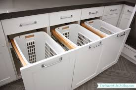 Mudroom Q & A - The Sunny Side Up Blog  Image of: White Laundry Hamper  Cabinet