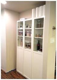 bookcases ikea bookcase doors pantry kitchen using billy shelf believe expedit