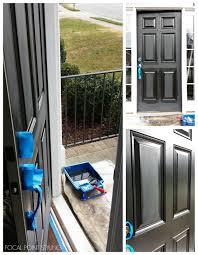 front door knob inside. FOCAL POINT STYLING: How To Paint Interior Doors Black \u0026 Update Brass Hardware Front Door Knob Inside O