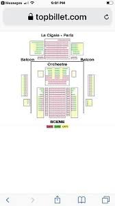 La Cigale Seating Chart With Numbers Jimmy Buffett 2 Concert Tickets Paris Wednesday September