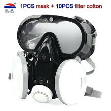 spray paint respirator mask painting spraying gas safety work proof dust
