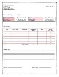 driver trip sheet template trip sheet template sheet templates