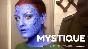 sd up make up tutorial series mystique x men days of future past you