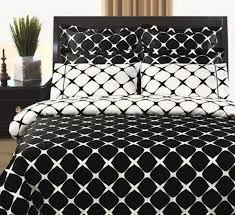 white and black bed sheets. Wonderful And 9pc Modern Reversible 400tc Black White Bed In A Bag To And Sheets W