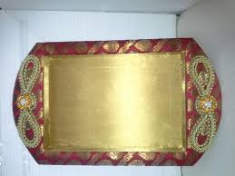 Indian Wedding Tray Decoration decorative trays for indian wedding 35