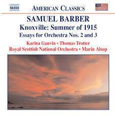 barber knoxville summer of essays for orchestra nos  barber knoxville summer of 1915 essays for orchestra nos 2 and 3 by samuel barber on spotify
