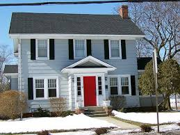 houses with red front doors. Delighful Houses Yellow Houses With Red Doors  Show Me Your Bluegray House And Doors In Houses With Red Front Doors