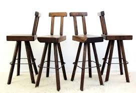 solid wood bar stools set of 4 1 wooden bars for adelaide