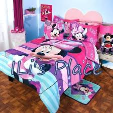 minnie mouse sheet set mouse bow power 4 piece toddler bedding set twin full and queen minnie mouse sheet set