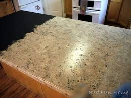 kitchen countertop paintRemodelaholic  Countertop Makeover With Giani Granite Paint