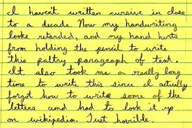 cursive benefits go beyond writing moms middle east cursive writing